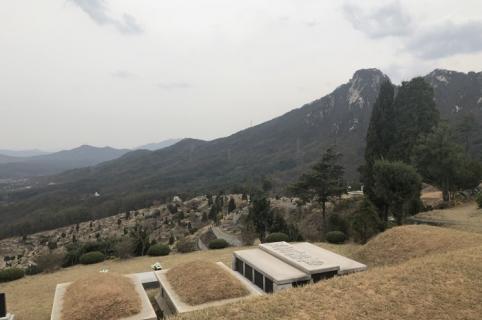 양주공원묘지 by 하늘나무