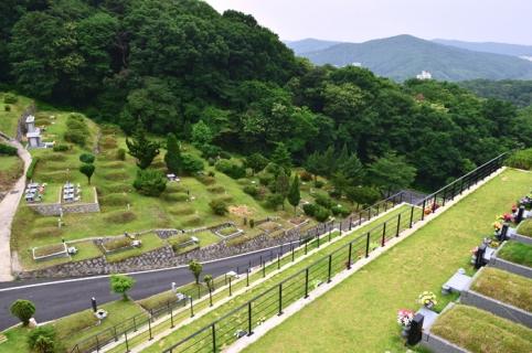 매장묘,묘지 by 하늘나무