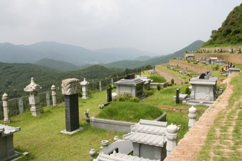 양수리 묘지 by 하늘나무