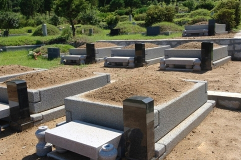 묘지,매장묘,분묘 by 하늘나무